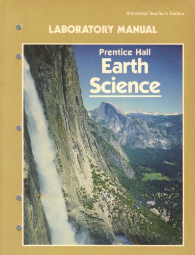 9780132228862: Prentice Hall Earth Science Laboratory Manual/Annotated Teacher's Edition