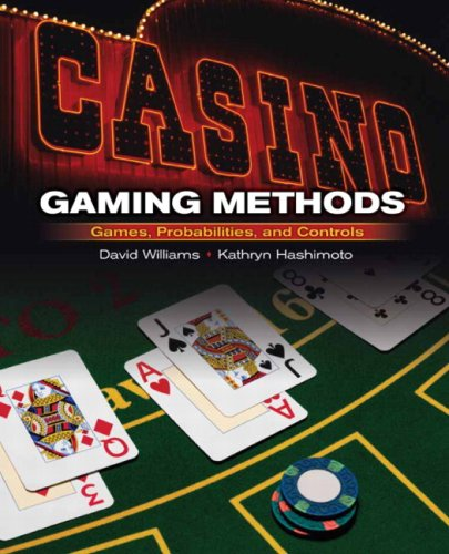 9780132228978: Casino Gaming Methods: Games, Probabilities, and Controls