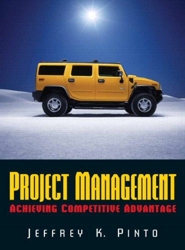 9780132229678: Project Management: Achieving Competitive Advantage and MS Project