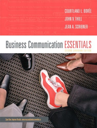 9780132230537: Business Communication Essentials, Second Canadian Edition