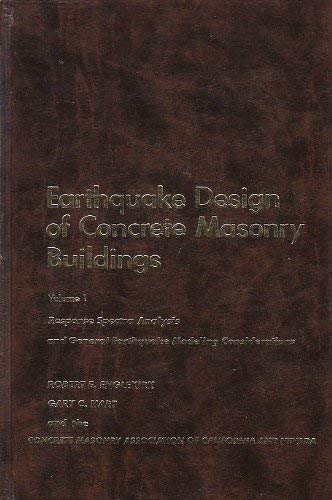 Earthquake Design of Concrete and Masonry Buildings,: Englekirk, Robert, Hart,