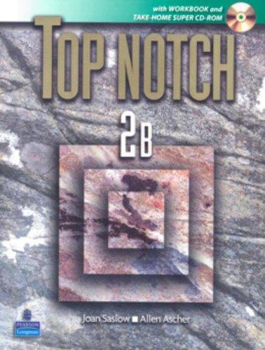 9780132231886: Top Notch 2B ( Book & CD-ROM )