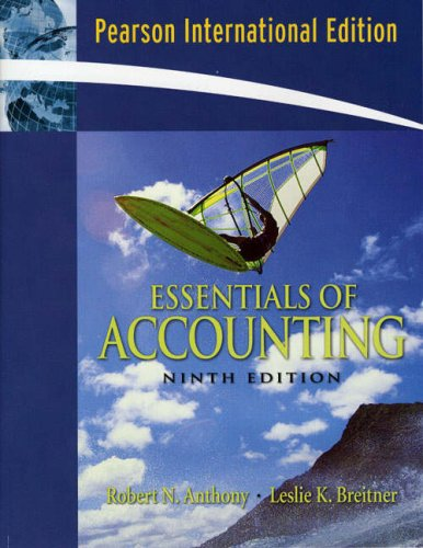 9780132233538: Essentials of Accounting