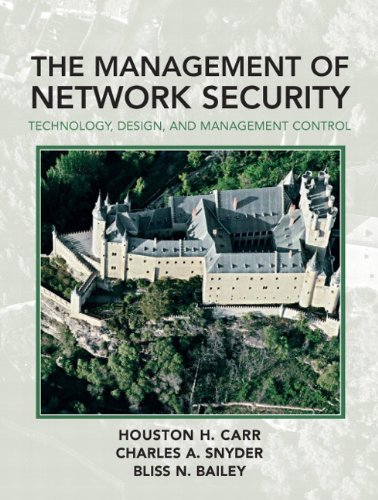 9780132234375: Management of Network Security