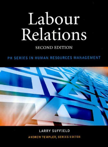 Labour Relations: Larry Suffield