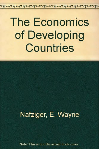 9780132236607: Economics of Developing Countries