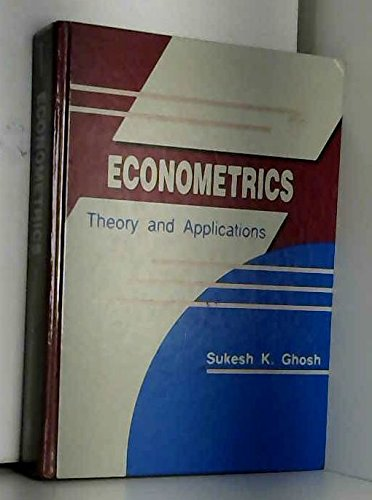 9780132237857: Econometrics: Theory and Applications
