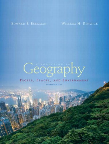 9780132238991: Introduction to Geography: People, Places and Environment (4th Edition)