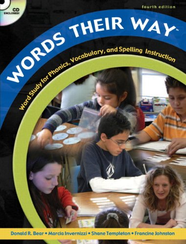 9780132239684: Words Their Way: Word Study for Phonics, Vocabulary, and Spelling Instruction, 4th Edition (Book, CD & DVD)