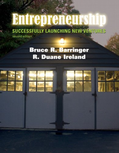 9780132240574: Entrepreneurship: Successfully Launching New Ventures (2nd Edition)