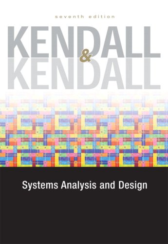 9780132240857: Systems Analysis and Design (7th Edition)