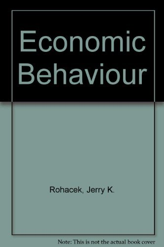 9780132241489: Economic Behavior
