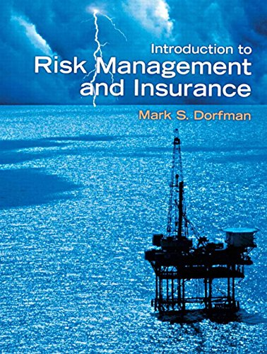 9780132242271: Introduction to Risk Management and Insurance (9th Edition)