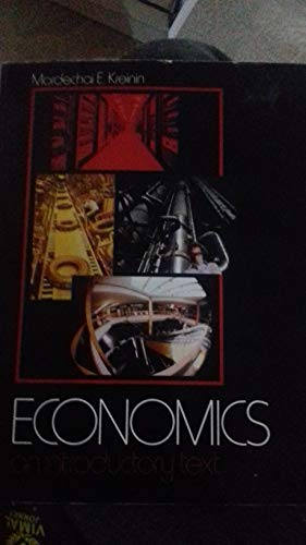 9780132242615: Economics: An Introductory Text