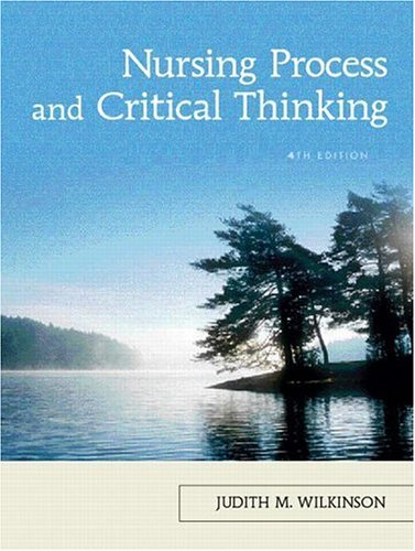 9780132242868: Nursing Process and Critical Thinking