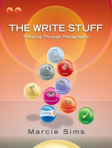 9780132243063: The Write Stuff: Thinking Through Paragraphs