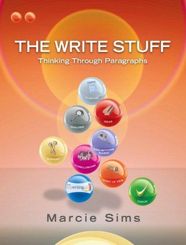 9780132243063: The Write Stuff: Thinking Through Paragraphs