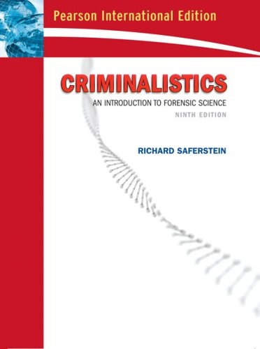9780132243971: Criminalistics: An Introduction to Forensic Science (College Edition): International Edition