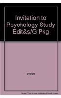 9780132244237: Invitation to Psychology Study Edit&s/G Pkg