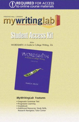 9780132244275: Wordsmith: Guide to College Writing