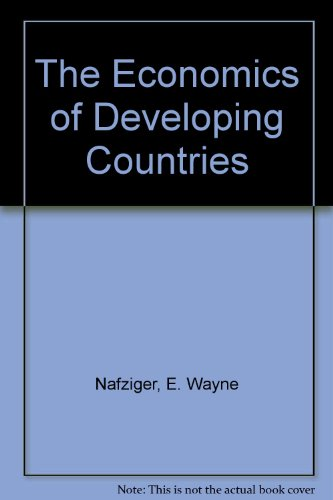 9780132245364: The Economics of Developing Countries