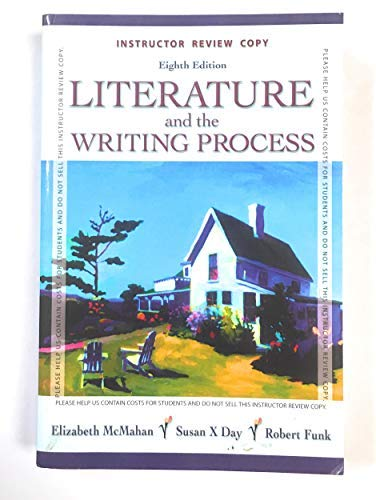 9780132248037: Instructor Review Copy Literature and the Writing Process