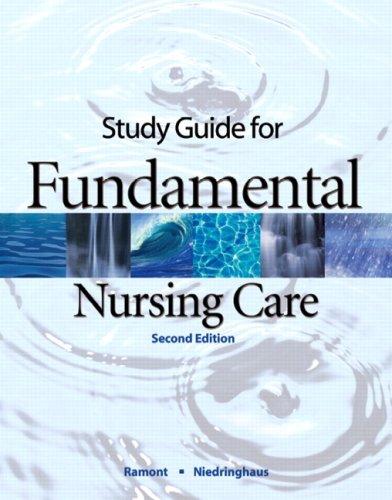 9780132249782: Study Guide for Fundamental Nursing Care