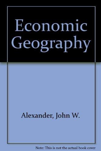 9780132251518: Economic Geography