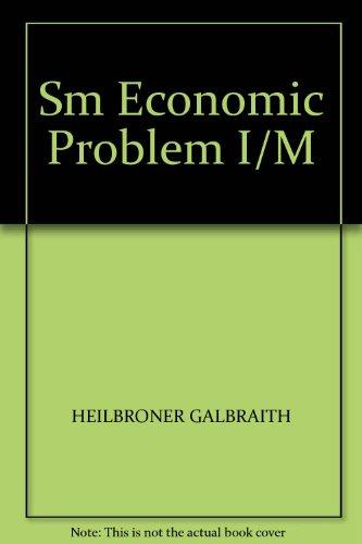 9780132252102: Sm Economic Problem I/M