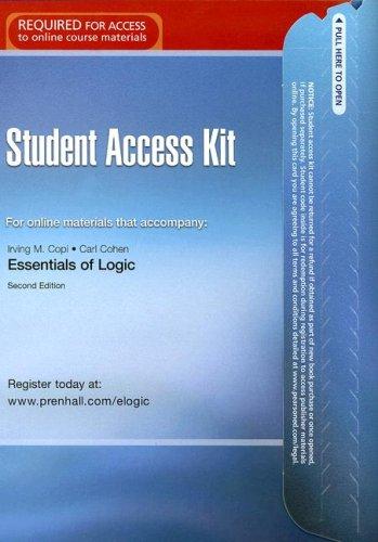 9780132253864: eLogic Access Code Card (2nd Edition)