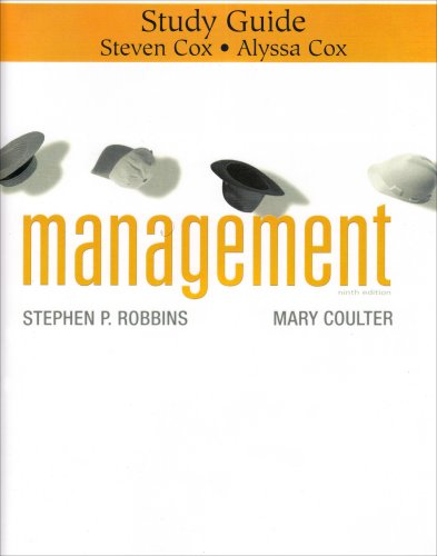 9780132257466: Management: Study Guide