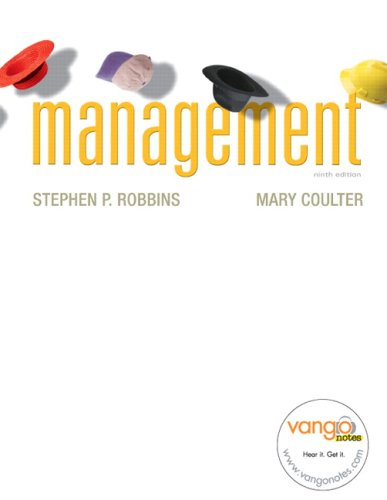 Management, 9th Edition: Robbins