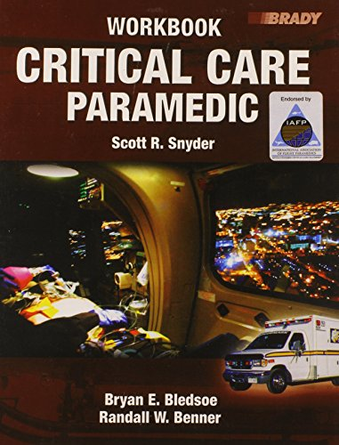 9780132258920: Critical Care Paramedic: Workbook