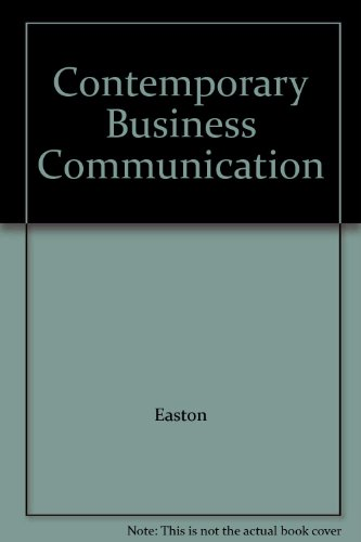 9780132259217: Contemporary Business Communication