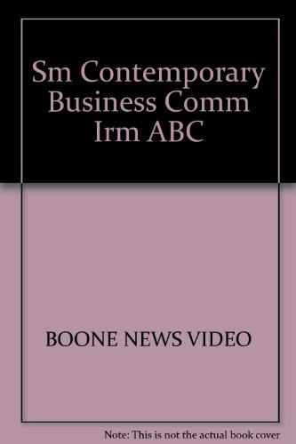 9780132259392: Contemporary Business Communication Instructor's Resource Manual with ABC News Video Activity Guide