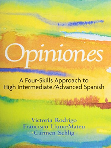 9780132264280: Biblioteca Auditiva, Narrow Listening Library with Opiniones: A 4-Skills Approach to Intermediate-High/Advanced Spanish