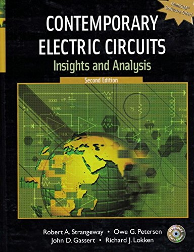 9780132265133: Contemporary Electric Circuits: Insights and Analysis [With CDROM]