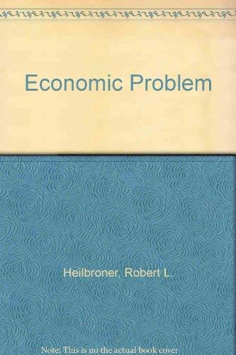9780132269100: Economic Problem