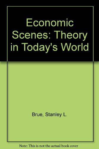 9780132269452: Economic scenes: Theory in today's world