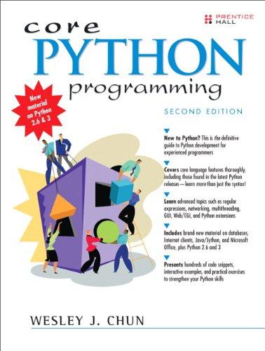 9780132269933: Core Python Programming (2nd Edition)