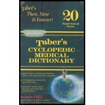 9780132271950: Tabers Cyclopedic Medical Dictionary