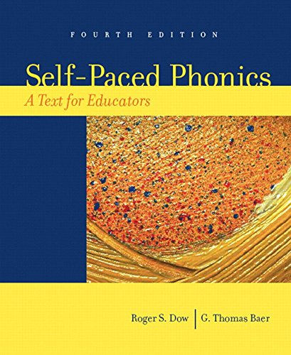 9780132272421: Self-Paced Phonics: A Text for Educators (4th Edition)