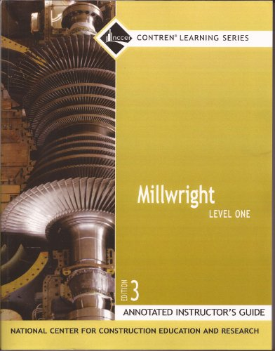9780132272902: Millwright Level 1 AIG, Perfect Bound