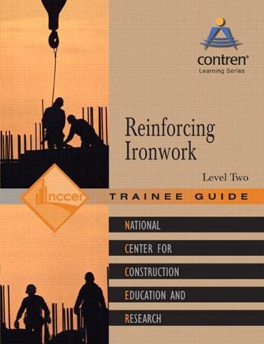 9780132272940: Reinforcing Ironwork Level 2 Trainee Guide