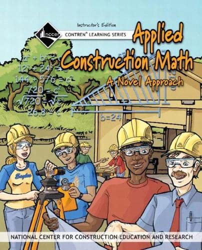 9780132273008: Applied Construction Math Instructor's Guide