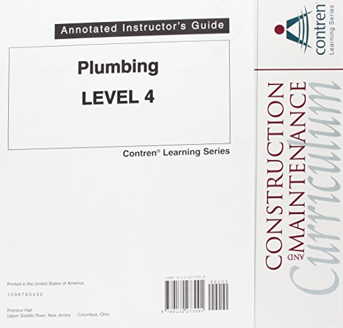 9780132273091: Plumbing: Annotated Instructor's Guide Level 4