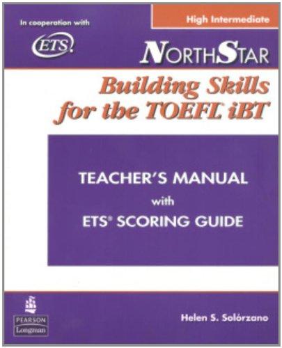 9780132273510: Northstar: Building Skills for the TOEFL Ibt, High-Intermediate Teacher's Manual with Audio CD