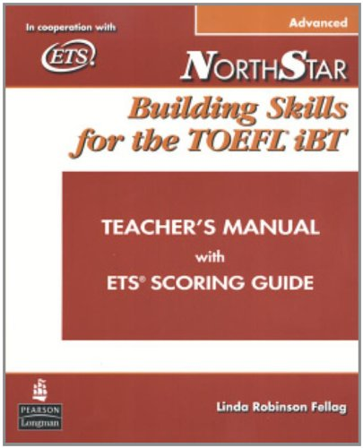 9780132273527: Teacher's Manual for NorthStar: Building Skills for the TOEFL iBT (advanced)