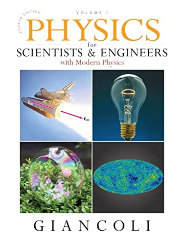 9780132273589: Physics for Scientists & Engineers, Vol. 1 (Chs 1-20) (4th Edition)