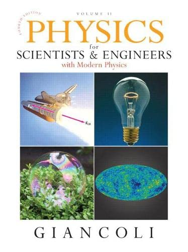 9780132273596: Physics for Scientists & Engineers, Vol. 2